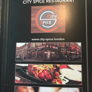 City Spice nominated best restaurant London
