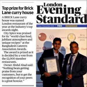 city-spice-in-evening-standard-media